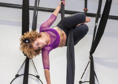 Kofi Jones: Aerial Fitness Instructor