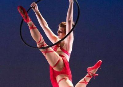 Lindsey Daniels, Lyra Instructor