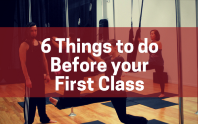 6 Things to do before your first class
