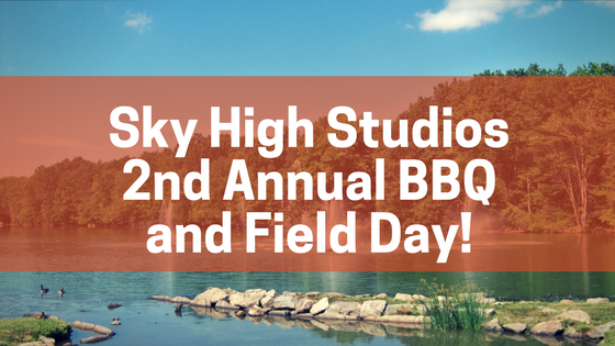 2nd Annual Studio BBQ and Field Day