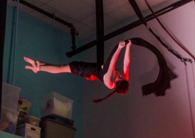 Allison Lind: Aerial Silks