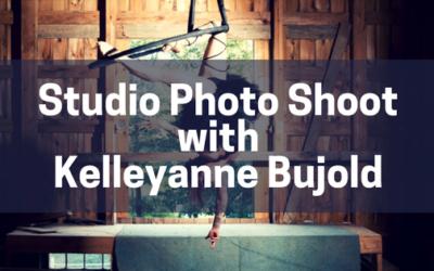 Studio Photo Shoot with Kelleyanne Bujold