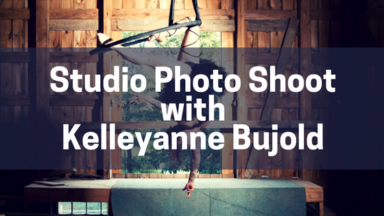 Studio Photo Shoot with Kelleyanne Bujold